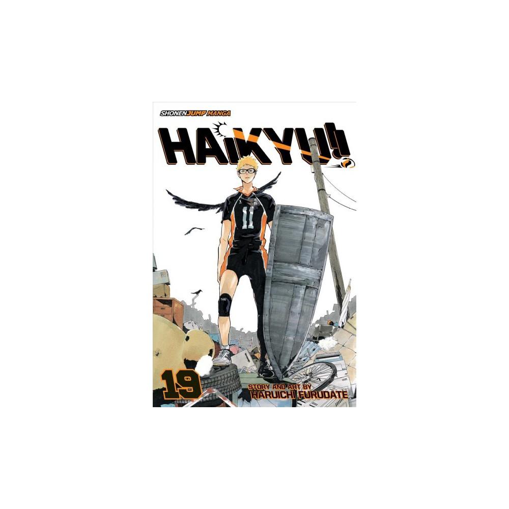 Haikyu!! 19 - (Haikyu) by Haruichi Furudate (Paperback)
