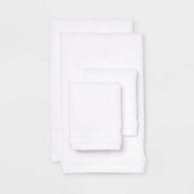 4pk Hand & Wash Towel Set True White - Made By Design™