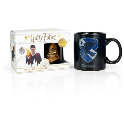 Seven20 Harry Potter Ravenclaw 20oz Heat Reveal Ceramic Coffee Mug | Color Changing Cup