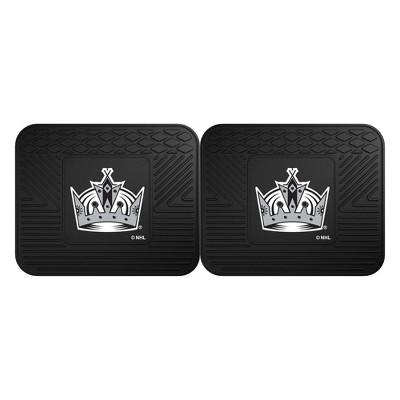 NHL Los Angeles Kings Vinyl Utility Mat Set - 2pc