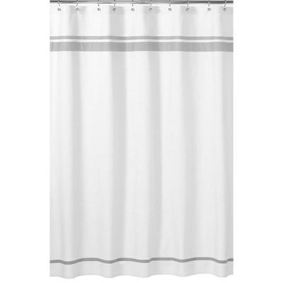 Hotel Shower Curtain Gray - Sweet Jojo Designs