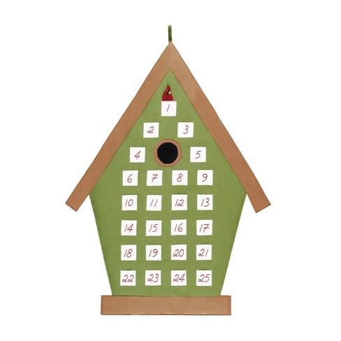 C&F Home Bird House Calendar - image 1 of 1