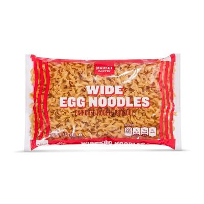 Noodles: Market Pantry Wide Egg Noodles