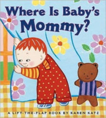 Where Is Baby's Mommy (Board)
