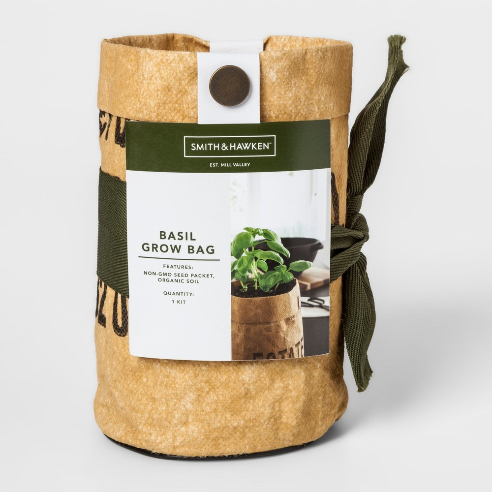 "Image of ""6.5"""" x 4"""" Basil Grow Kit - Smith & Hawken , Beige"""