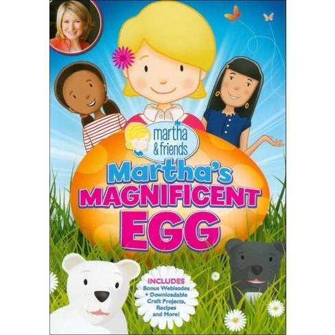 Martha & Friends: Martha's Magnificent Egg (DVD) - image 1 of 1