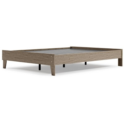 Oliah Platform Bed Natural - Signature Design by Ashley