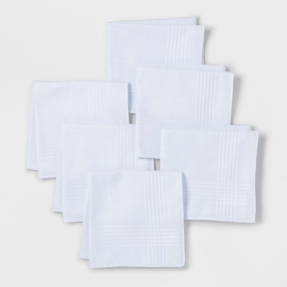 Men's Hankies - Goodfellow & Co White One Size