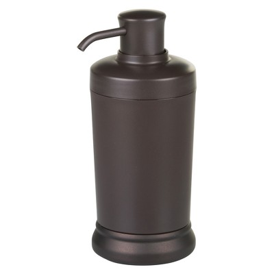 Round Soap Pump Dispenser Bronze - InterDesign®