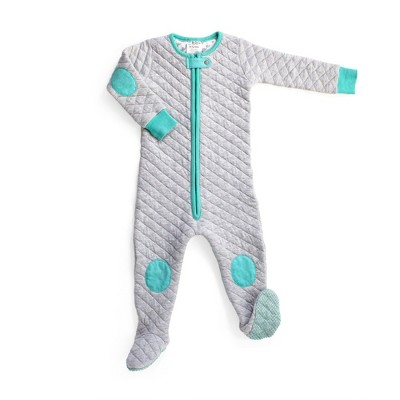 Swaddle Wrap baby deedee Gray Aqua