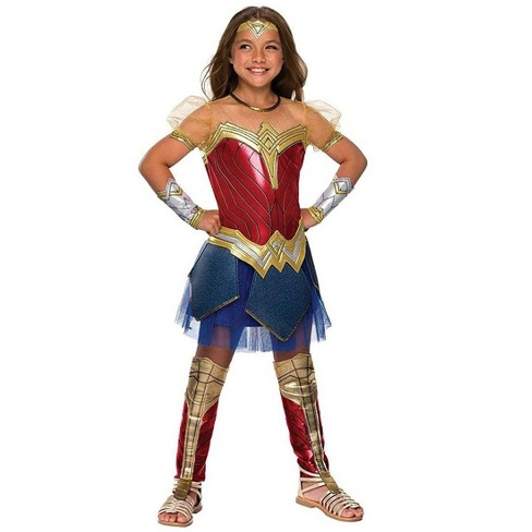 Rubie S Justice League Movie Wonder Woman Premium Costume Child Target