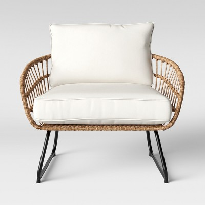 Southport Patio Chair Half Linen, Comfy Outdoor Patio Furniture