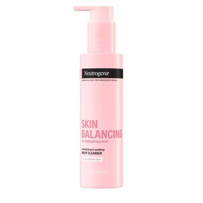 Neutrogena Skin Balancing Moisturizing and Soothing Milky Cleanser - 6.3 fl oz