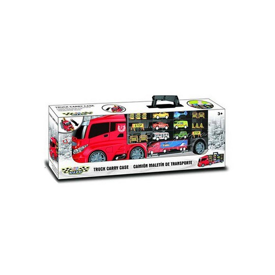 Lucky Toys Blue 20pc Truck Carry Case image number null
