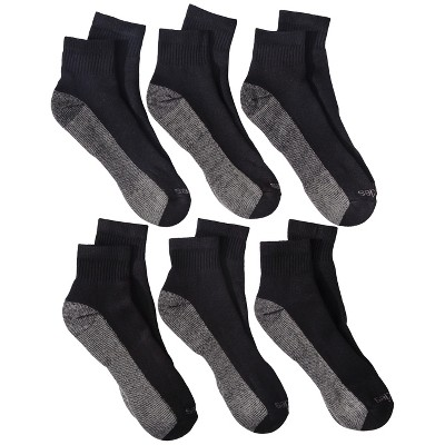 Dickies Men's 6pk Dri-Tech Ankle Socks - Black
