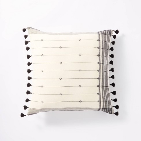 Dobby Striped Throw Pillow - Threshold™ designed with Studio McGee - image 1 of 4