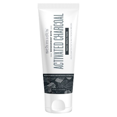 Schmidt's Activated Charcoal Tooth and Mouth paste - 4.7oz