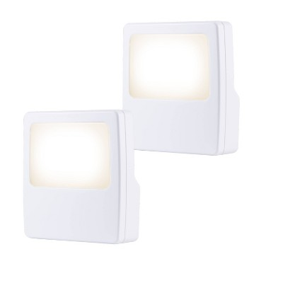General Electric 2pk Plugin LED Night Light White
