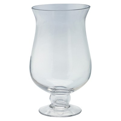 Clear Glass Rounded Candleholder - Diamond Star®