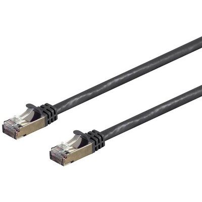 Monoprice Cat7 Ethernet Network Patch Cable - 5 feet - Black   26AWG, Shielded, (S/FTP) - Entegrade Series