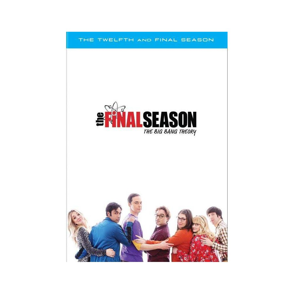 The Big Bang Theory: The Twelfth and Final Season (DVD) was $32.99 now $14.99 (55.0% off)