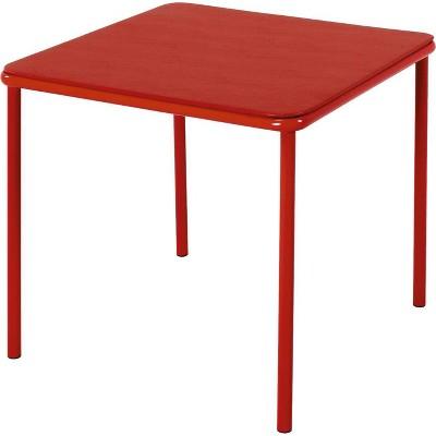 Kids Vinyl Top Table Red - Room & Joy