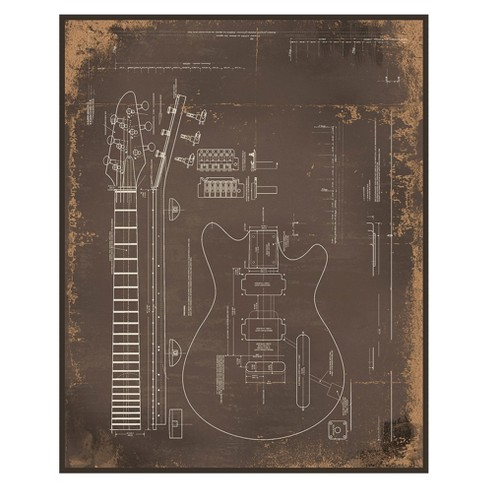 Electric Guitar Wall Art - image 1 of 3