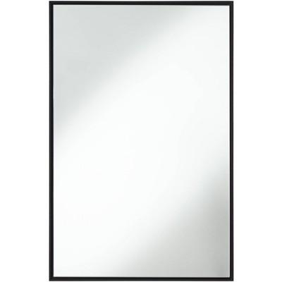 "Uttermost Andrew Black 24"" x 36"" Wall Mirror"