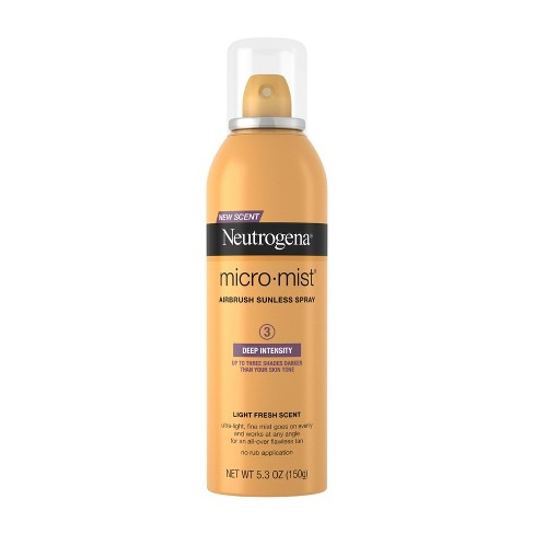 Neutrogena Micromist Airbrush Sunless Tanning Spray - 5.3oz - image 1 of 4