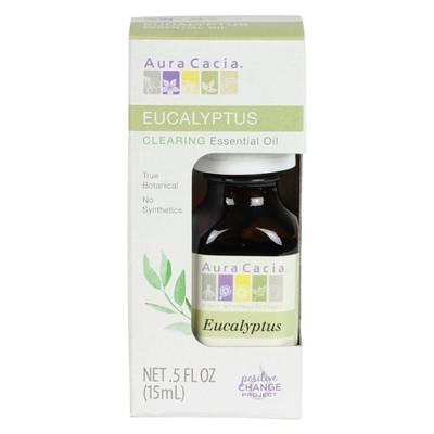 Aura Cacia Eucalyptus Exhilarating Essential Oil - 0.5 oz