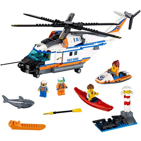 LEGO® City Coast Guard Heavy-duty Rescue Helicopter 60166 - image 1 of 15