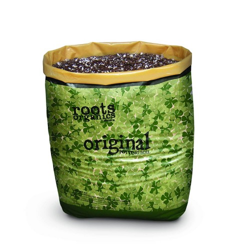 Roots Organics ROD75 Hydroponic Gardening Fiber Based Potting Soil .75 Cu Ft (3) - image 1 of 4