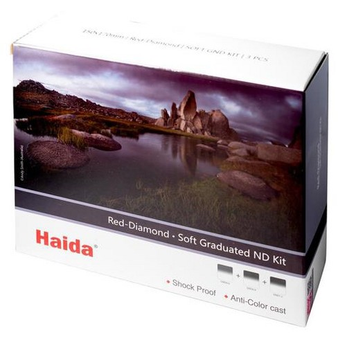 Haida Red Diamond Soft-Edge Graduated ND 150x170mm Filter Kit - image 1 of 2