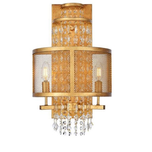 "Elegant Lighting 1540W12 Legacy 2 Light 21"" Tall Wall Sconce - image 1 of 1"
