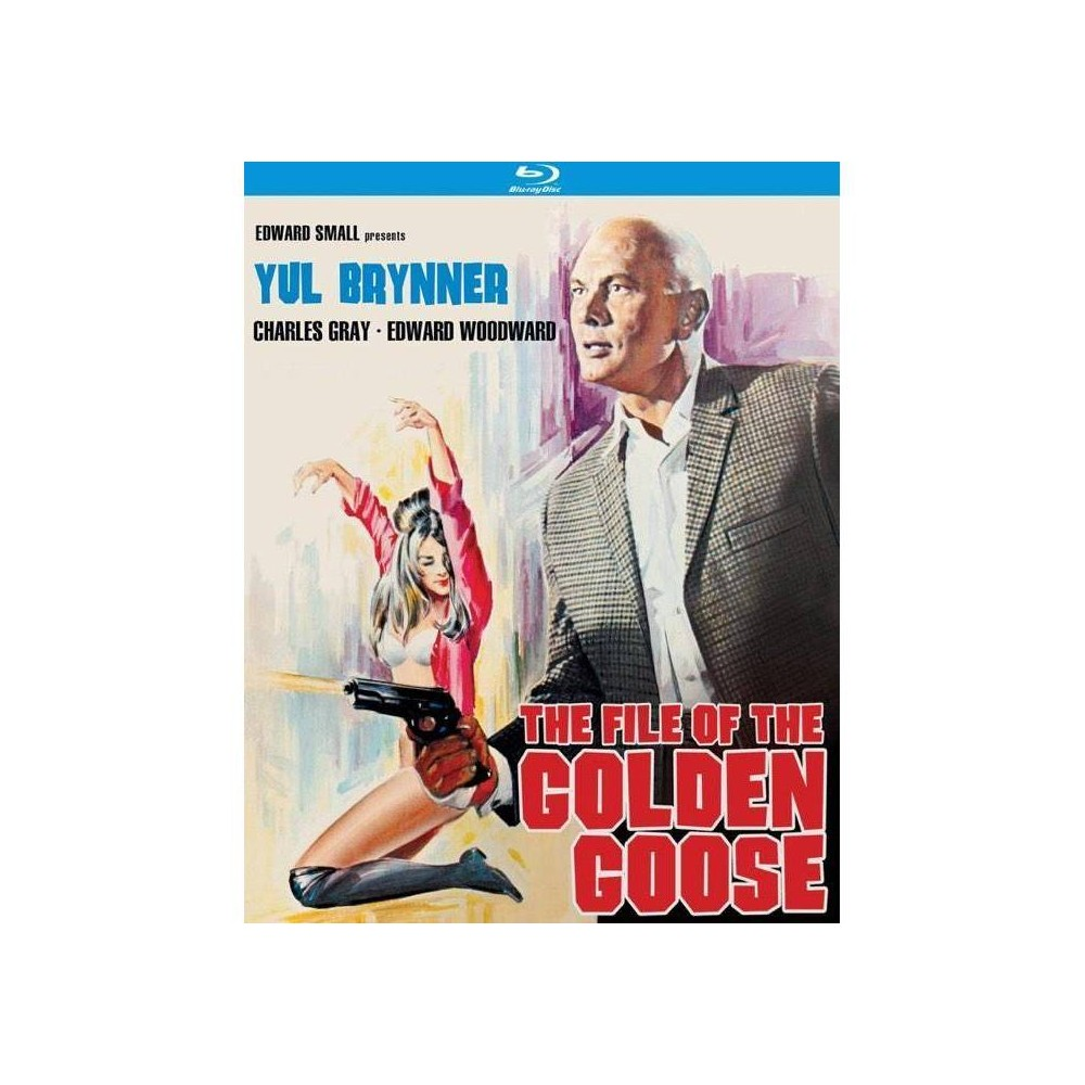 The File Of The Golden Goose Blu Ray