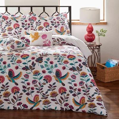 Full/Queen Mina Comforter Set Natural - Azalea Skye