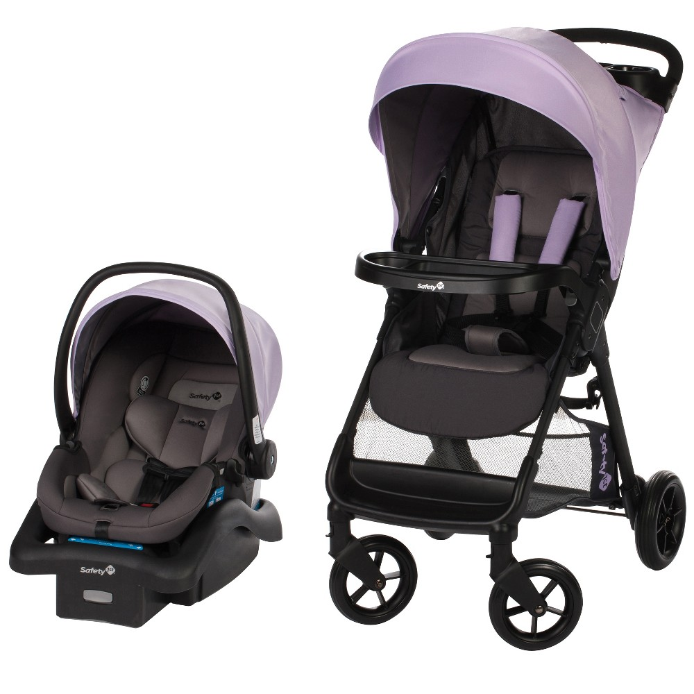 Image of Safety 1st Smooth Ride Travel System - Wisteria Blue