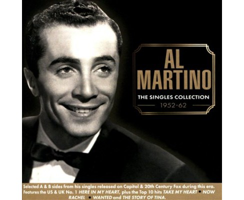 Al Martino - Singles Collection:1952-1962 (CD) - image 1 of 1