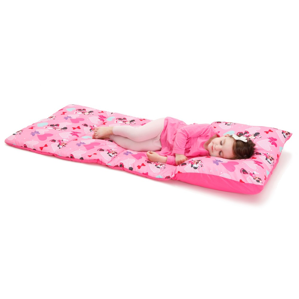 Disney Minnie Mouse Easy Fold Nap Mat, Pink
