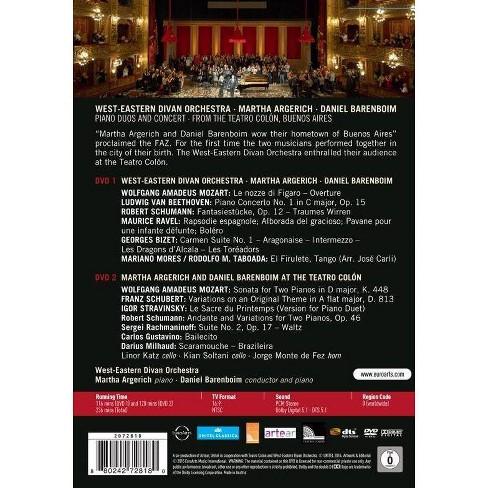 Margaret Argerich / Daniel Barenboim / West: Eastern Orchestra: Teatro Colon (DVD) - image 1 of 1