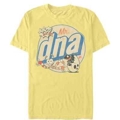 Men's Jurassic World Mr. DNA Cartoon T-Shirt