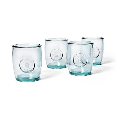 13.5oz 4pc Short Recycled Glass Tumbler Set - Levi's® x Target