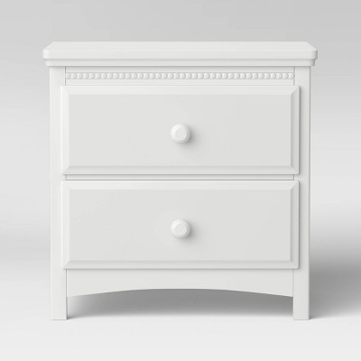 Delta Children Emerson Side Table Kids' Nightstand - Bianca White