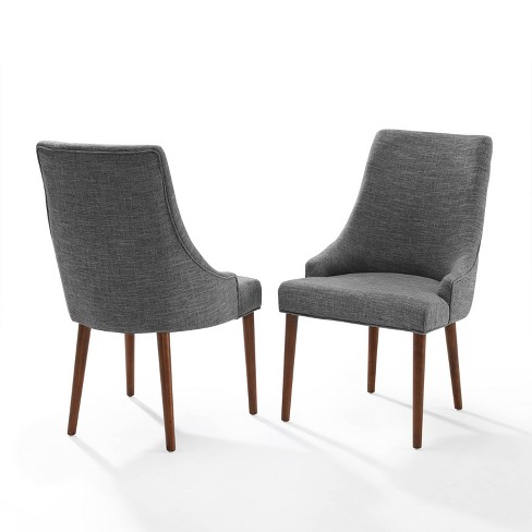 Set Of 2 Landon Upholstered Dining Chairs Red Crosley Target