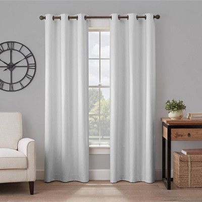 Gabriella Absolute Zero 100% Blackout Window Panel - Eclipse