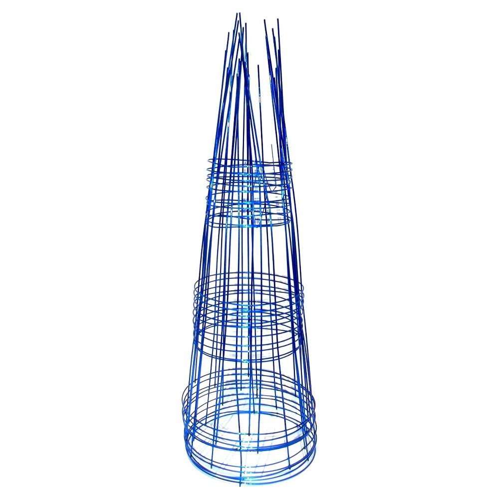 """Image of """"12"""""""" x 33"""""""" Round Support 10pk - Sapphire (Blue) - Glamos"""""""