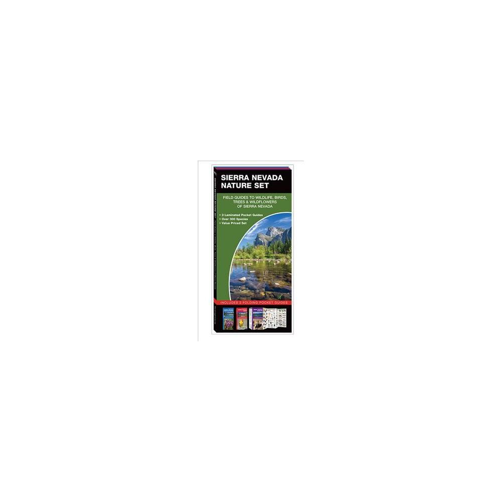 Sierra Nevada Nature Set : Field Guides to Wildlife, Birds, Trees & Wildflowers of Sierra Nevada - Lslf