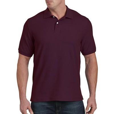 Harbor Bay Piqué; Polo Shirt - Men's Big and Tall
