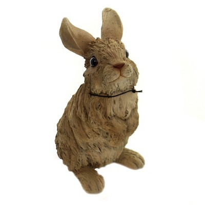 """Animal 9.75"""" Driftwood Standing Rabbit Figurine Woodlife Bunny Forest Pacific Trading  -  Decorative Figurines"""