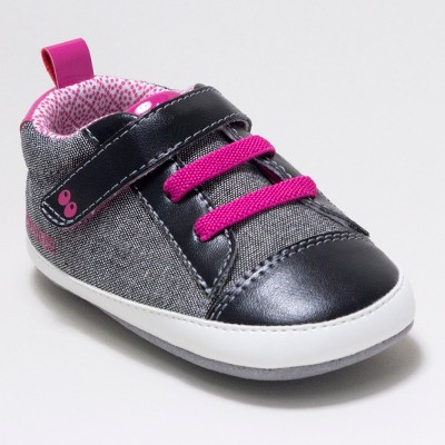 Baby Girls' Surprize by Stride Rite Clara Sneaker Mini Shoes - Black 6-12M